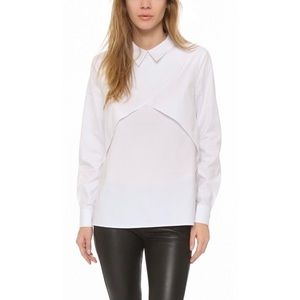 FindersKeepers White Layered Shirt